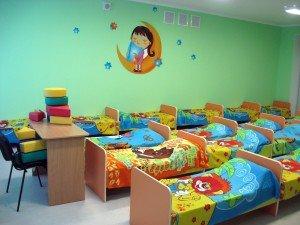 Комната в детском саде