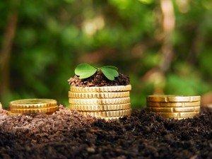 монетки в земле