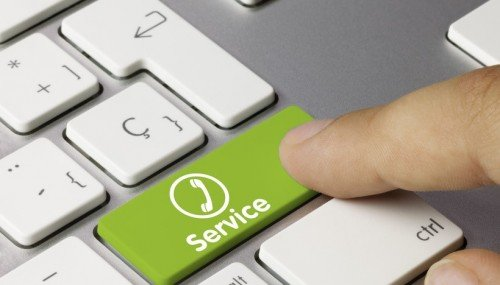 """кнопка """"сервис"""""""