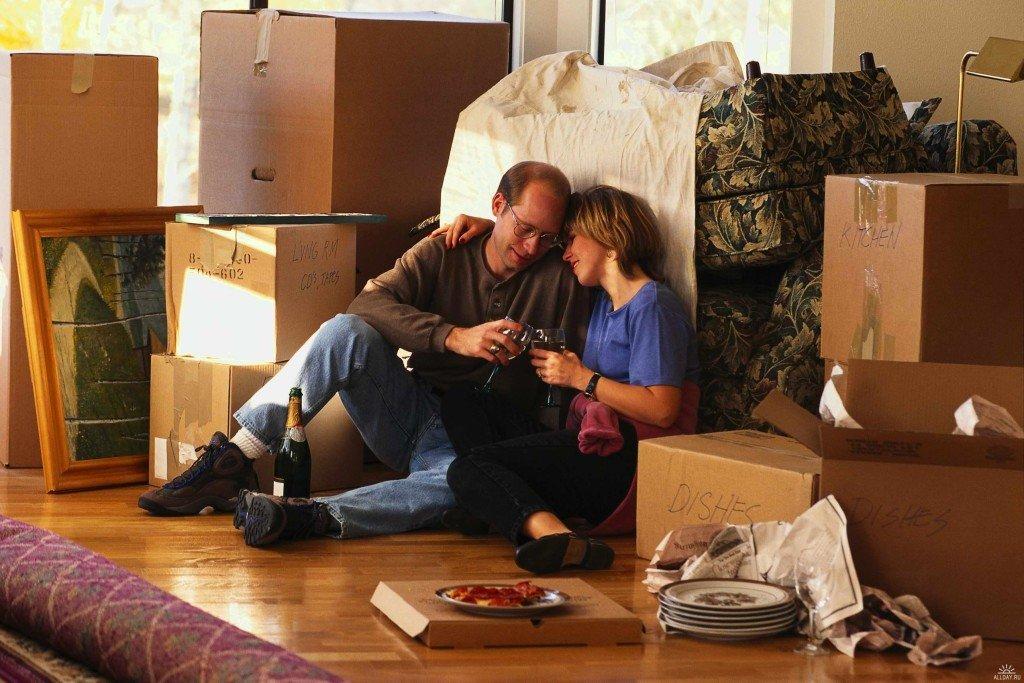 Семейная пара купила квартиру