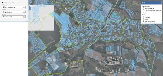 Карта земельных участков по кадастровому номеру