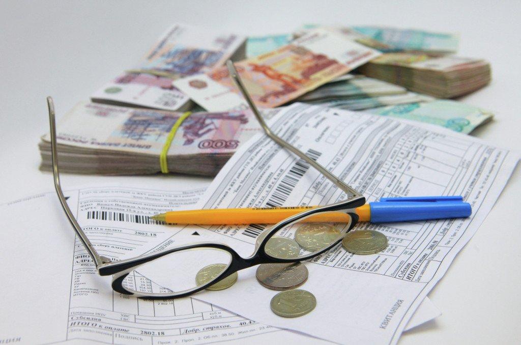 очки, деньги и документы